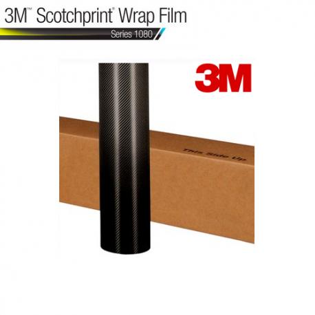 Film Adhésif 3M - Fibre Carbone Noir