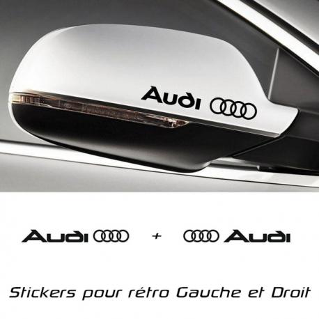 Kit 2 stickers de retro Audi