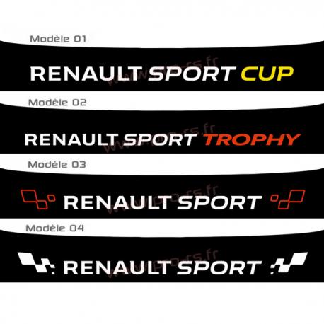 Bandeau Pare soleil Renault Sport 2016 B