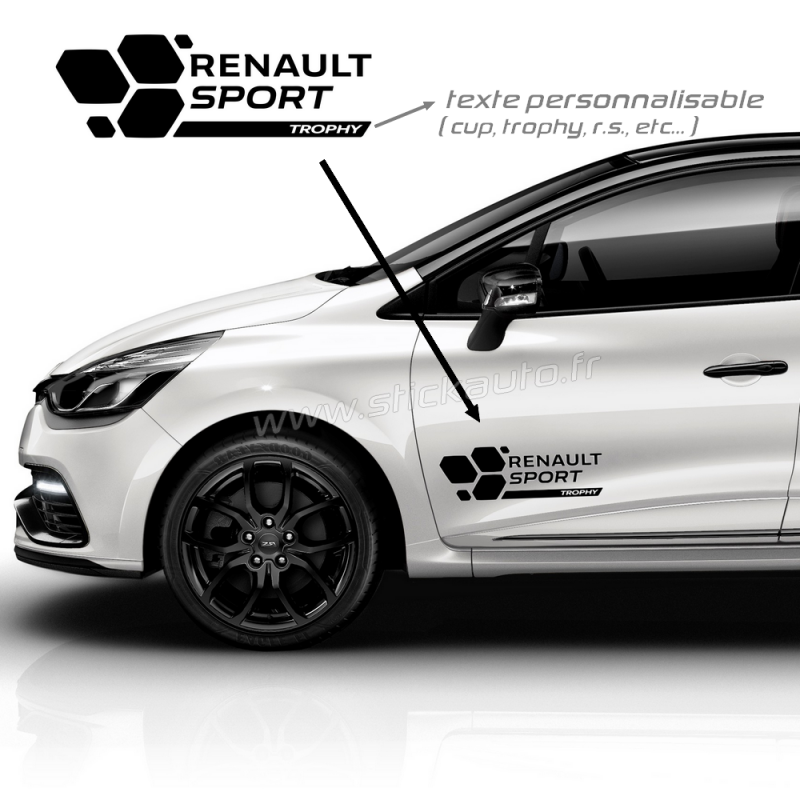 kit renault sport stickers rs16 type a. Black Bedroom Furniture Sets. Home Design Ideas