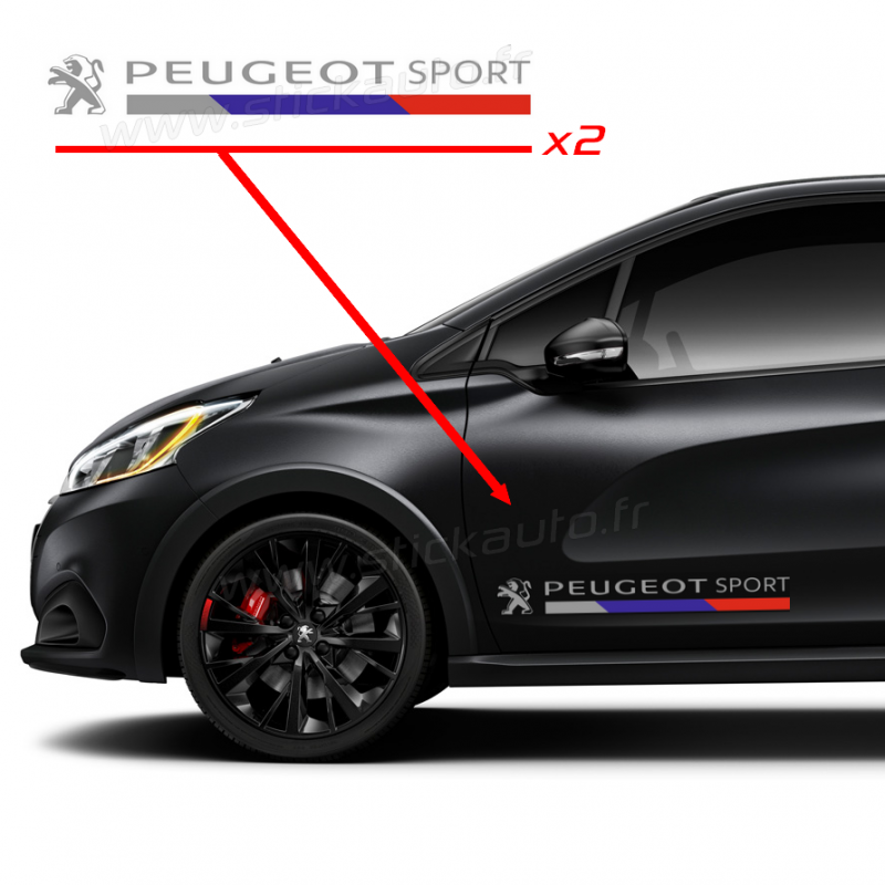 Kit Stickers Peugeot Sport 2016 80cm