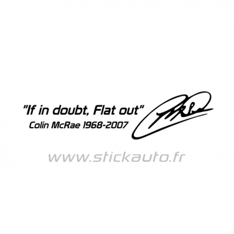 Flat Out Colin McRae