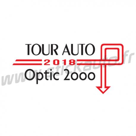 Tour Auto 2018 Noir et Rouge
