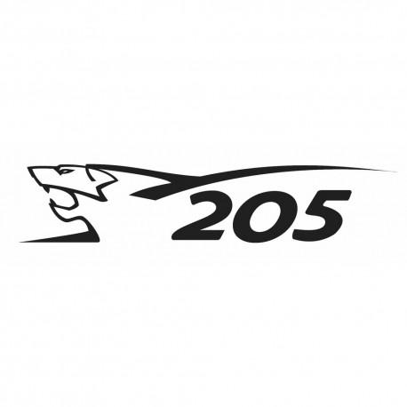 peugeot 205 lion