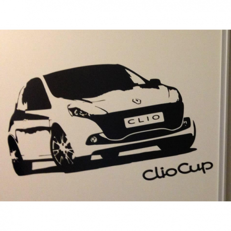 Stickers Clio Cup
