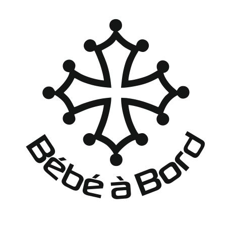Croix Occitane Bébé à bord