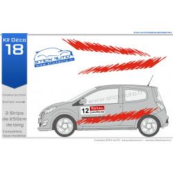 Kit voiture de rallye