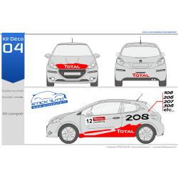 Kit Déco Rallye 04