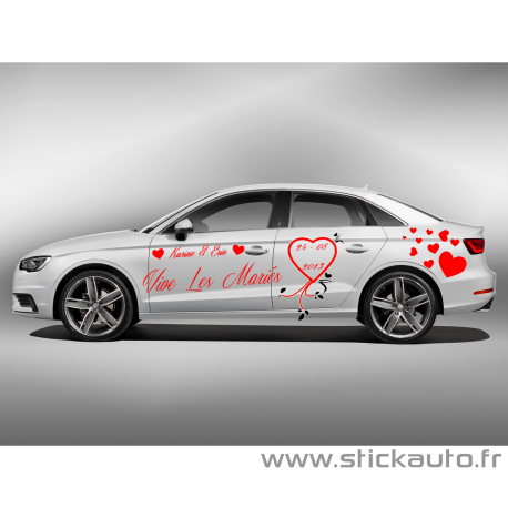 Kit Complet Stickers Mariage Pack 1