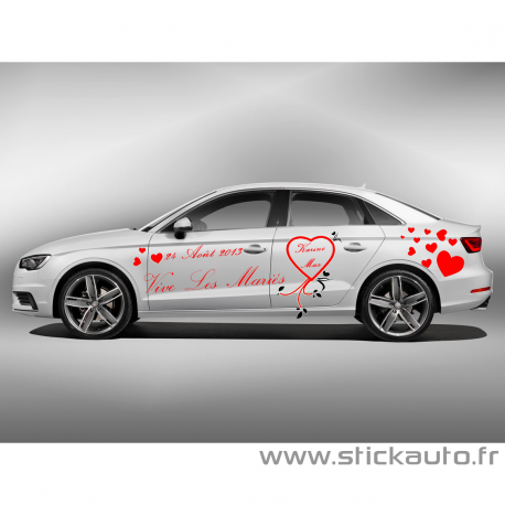 Kit Complet Stickers Mariage Pack 2