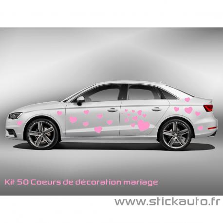 Kit 50 coeurs de décoration mariage