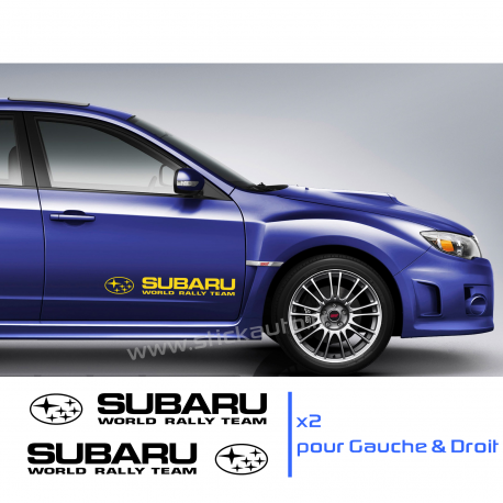 Kit 2 Stickers Subaru WRT 60cm