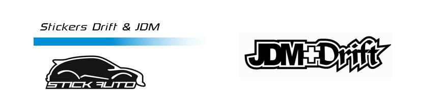 Stickers Drift & JDM
