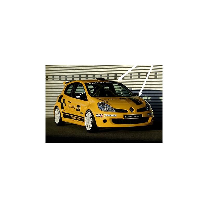 Kit Clio 4 Renault Sport Cup: Kit Bandes Renault Sport Bas De Caisse Type Clio Cup