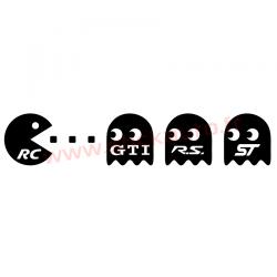 Sticker Pac Man RC