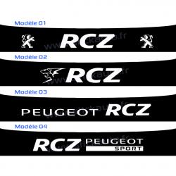 Bandeau Pare soleil Peugeot Sport RCZ