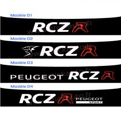 Bandeau Pare soleil Peugeot Sport RCZ R