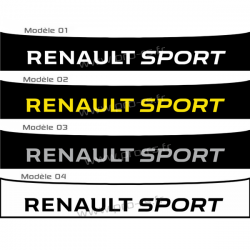 Bandeau Pare soleil Renault Sport 2016 A
