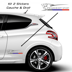 Kit Stickers Peugeot Sport Lion 2016 40cm