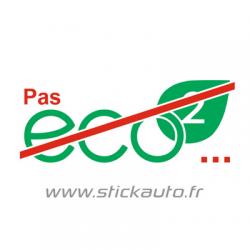 Sticker Pas Eco2