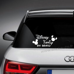 Sticker Disney Family on board