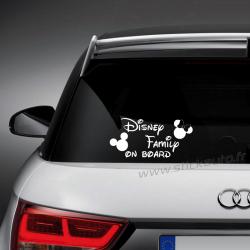 Sticker Disney Family on board