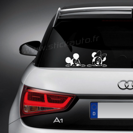 Sticker Disney Mickey et Minnie
