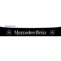 Bandeau Pare soleil Mercedes B 250x20cm