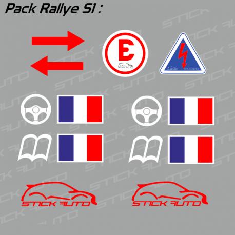 Pack Rallye S1 FFSA