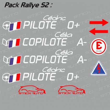 Pack Rallye S2 FFSA