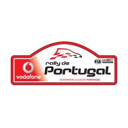 Plaque de Rallye du Portugal en autocollant