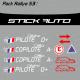 Pack Rallye S3 FFSA