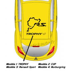Sticker de toit Renault Sport B