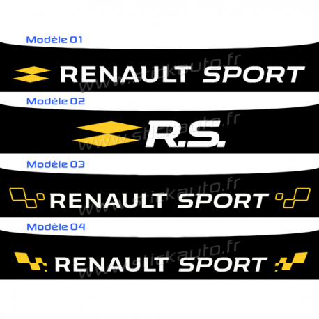 Bandeau Pare soleil Renault Sport 2016 C
