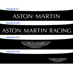 Bandeau Pare soleil Aston Martin