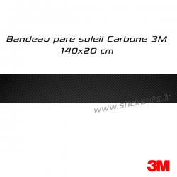 Bandeau pare soleil Carbone 3M