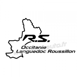Sticker RS Occitanie Languedoc Roussillon