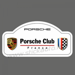 Sticker Porsche Club France