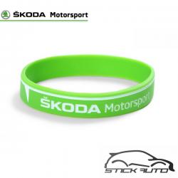 Bracelet Silicone ŠKODA Motorsport