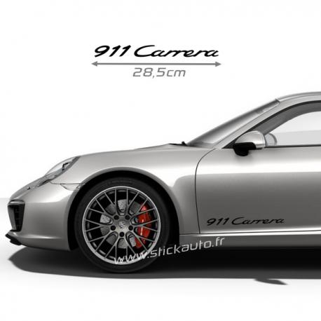 Kit 2 Stickers Porsche 911 Carrera