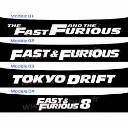 Bandeau Pare soleil Fast and Furious