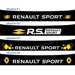 Bandeau Pare soleil Renault Sport 2016 D