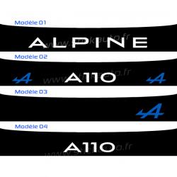 Bandeau Pare soleil Alpine