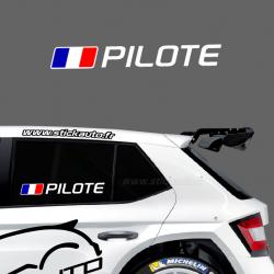 Lettrage Pilote Type Circuit