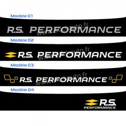 Bandeau Pare soleil Renault Sport RS Performance
