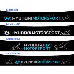 Bandeau Pare soleil Hyundai Motorsport LOEB