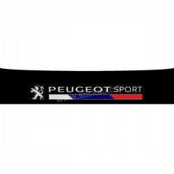 Bandeau pare soleil Peugeot Sport 140x29cm