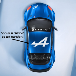 Sticker de toit A Alpine