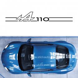 Sticker de toit Alpine A110