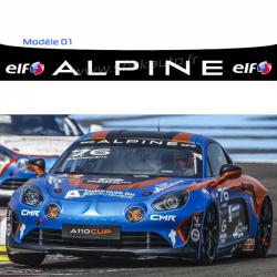 Bandeau pare soleil Alpine Cup